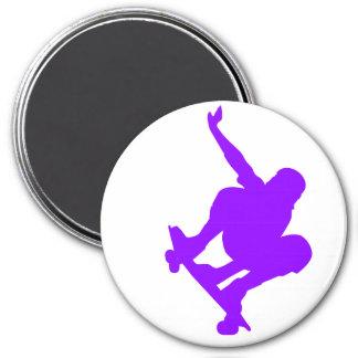 Violet Purple Skater Fridge Magnet