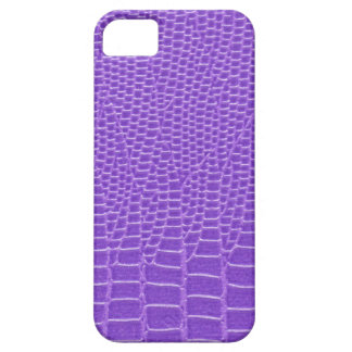 Violet purple snakeskin iPhone 5 cover