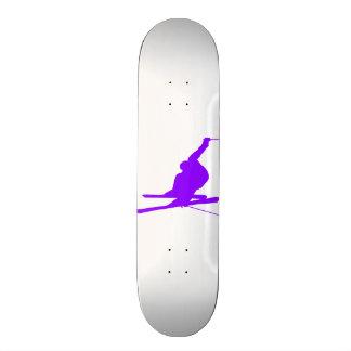 Violet Purple Snow Ski Skate Deck