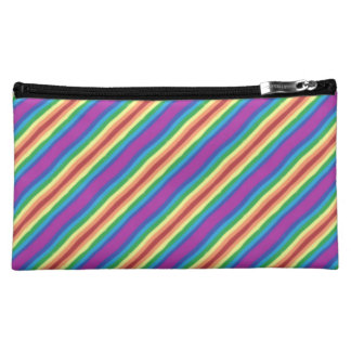 Violet Rainbow Cosmetic Bag