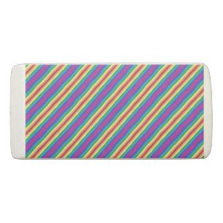 Violet Rainbow Eraser