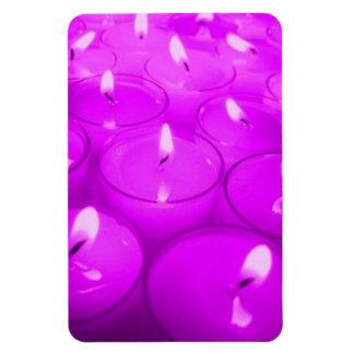 Violet Red Candles Premium Flexi Magnet