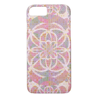 Violet red geometry iPhone 7 case