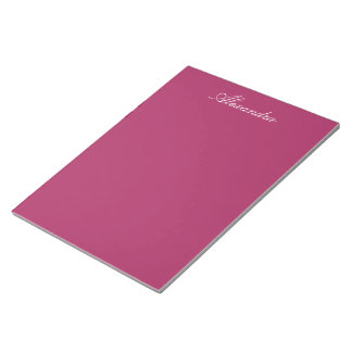 Violet Red Note Pads