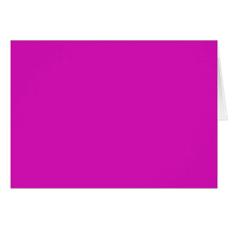 VIOLET RED PASSION (solid color) ~ Greeting Card