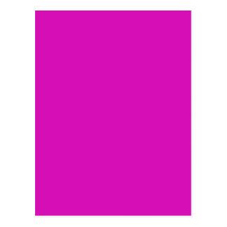 VIOLET RED PASSION (solid color) ~ Postcard
