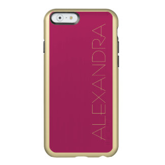 Violet Red Solid Color Incipio Feather® Shine iPhone 6 Case