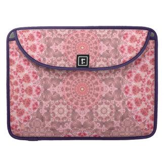 Violet Relief Pattern MacBook Pro Sleeve