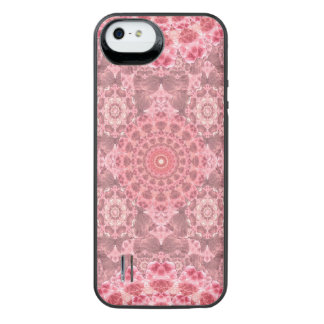 Violet Relief Pattern Mandala iPhone SE/5/5s Battery Case