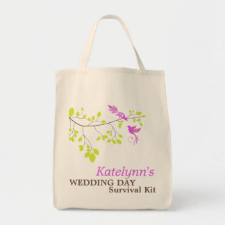 Violet Romance Wedding Day Survival Kit Bag