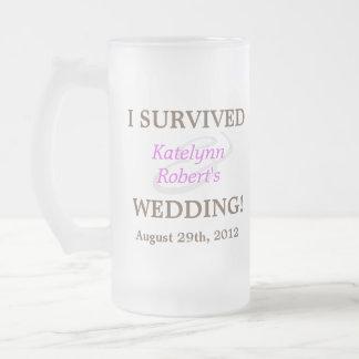 Violet Romance Wedding Souvenir Mug