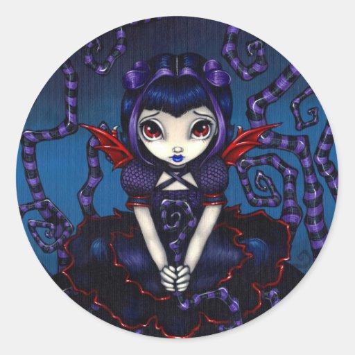 """Violet Sometimes"" Sticker"