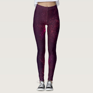 Violet Stardust Leggings