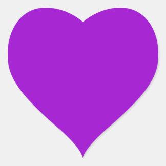 Violet Heart Sticker