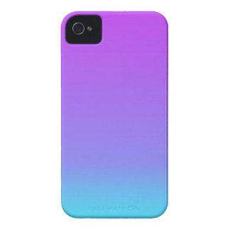 violet teal fade iPhone 4 cases
