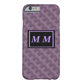 Violet Text on Violet Background Barely There iPhone 6 Case