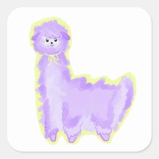 Violet the Alpaca Sticker