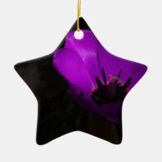 Violet Tulip Ornaments