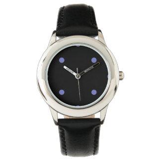 Violet Tulip Polkadots Small Wrist Watch