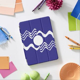 Violet White Zigzag 4Jojo iPad Air Cover