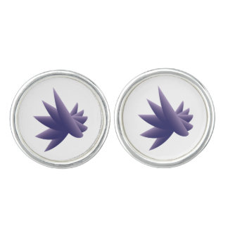 Violet wings cufflinks