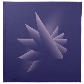 Violet wings napkin
