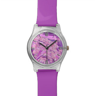 Violet Woodland abstract, Lavender, Mauve, Purple Watch