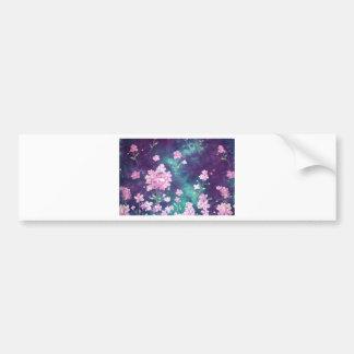 violetas com fundo de ceu adesivo