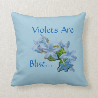 Violets Are Blue... Cushion
