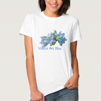 Violets Are Blue T Shirt