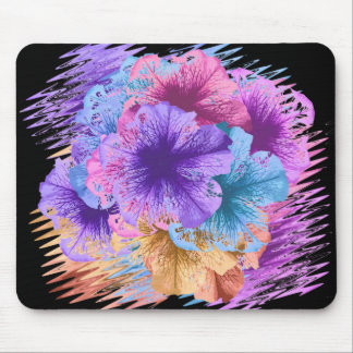 Violets Gone Wild Mouse Pad