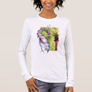 Violette and Obsidian Long Sleeve T-Shirt