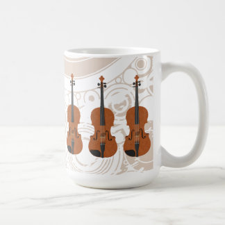 Violin: 3D Model: Coffee Mug