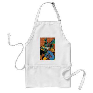 Violin and Checkerboard by Juan Gris Standard Apron