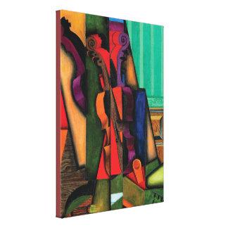 Violin and Guitar by Juan Gris Canvas Print