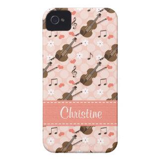 Violin Blackberry Bold Case Cover