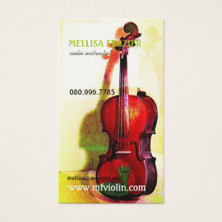 Violin Business/Instructor Business Card