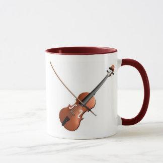 Violin Design Mug