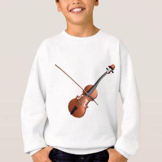 Violin Design Sweatshirt