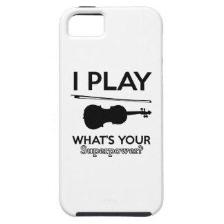 violin designs iPhone 5 case