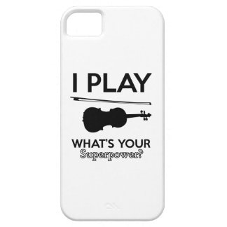 violin designs iPhone 5 covers