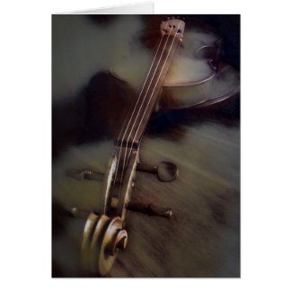 Violin Dreams Note Card