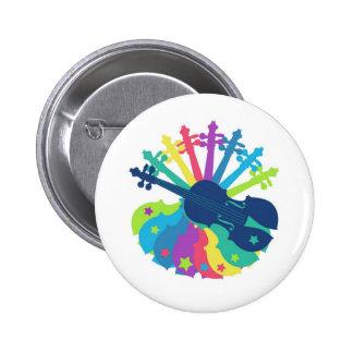 Violin Fun 6 Cm Round Badge