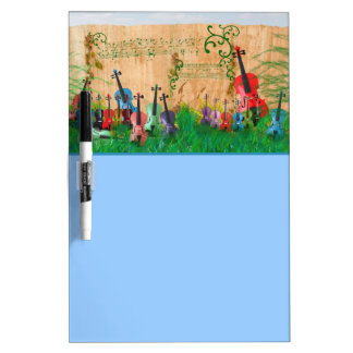 Violin Garden Dry-Erase Boards