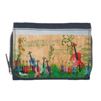 Violin Garden Wallets