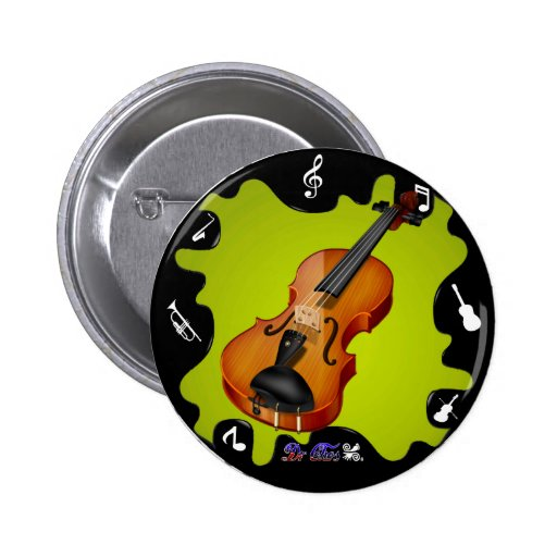 VIOLIN GIFTS CUSTOMIZABLE PRODUCTS BUTTONS