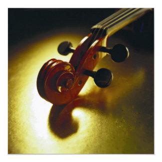 Violin Headstock Card