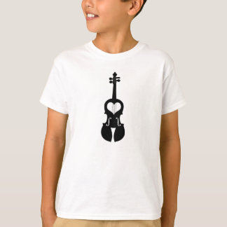 Violin Heart T-Shirt