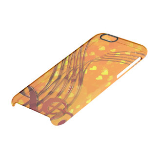 Violin key clear iPhone 6/6S case