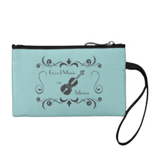 Violin Key Coin Clutch